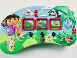 Adventures With Dora the Explorer Electronic Learning Toy English & Spanish