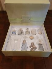 New Hallmark Miniature Full 11-piece Nativity Christmas Set