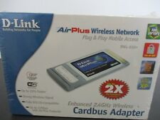 D-Link Card Bus DWL-650+ Wireless Cardbus WiFi Card Adapter!! FREE S&H!!