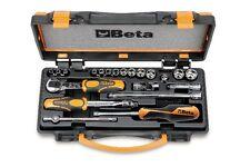 Beta Tools 900/C13-8 21 Piece Socket & Bits Set 13 Hexagon Sockets + Bits + Case