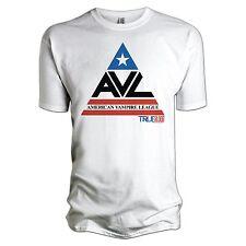 True Blood AVL Logo 100% Oficial Blanco T-Shirt Large Nuevo Sellado