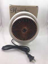 Mini Electric Heater Fan Portable DGS-6688 White 220V 50Hz 800W Home Office R33B