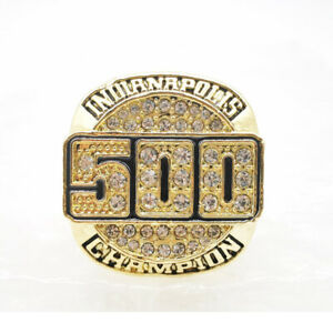 Ring of A.J. Foyt, Al Unser Sr. and Mears Indianapolis 500 Four Time Champions