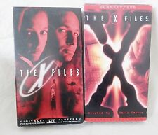 The X Files, VHS Menge 2, der Film 1998, Kabelkanal/Ice TV Shows 1993