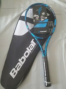 Brand new Babolat Pure Drive 2021 (4 1/4) Strung with Cover.