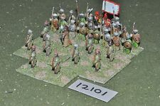 25mm medieval / saracen - infantry 30 figs - inf (12101)