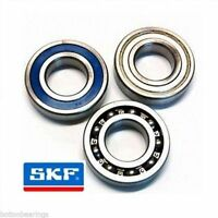 SKF Double Row Angular Contact Bearings 3200 Series 2RS ZZ 2Z Open - Choose Size