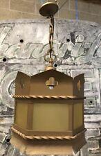 Antique Vintage Art Deco Nouveau Dungeon Gothic Lamp Light Fixture (W2)
