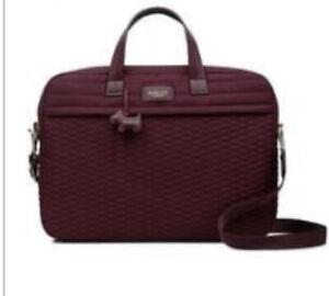 Radley Penton Mews Zip Around Merlot Laptop Bag