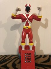 Power Rangers Red Quantum Ranger Time Force Talking Ranger 2000 Planet Toy Inc