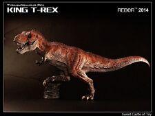 1/35 Rebor Tyrannosaurus King T-Rex Painted PVC Dinosaur Museum Class Model