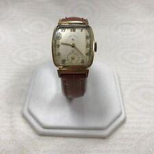 a147 Vintage Original Lord Elgin 14K Gold Mechanical Hand Winding Wrist Watch