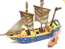 New 3D puzzle pirate boat good for gift