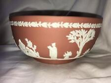 "Wedgwood Pink Solid Jasperware ""Sacrifica"" Bowl"