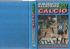 Libro=ALMANACCO ILLUSTRATO DEL CALCIO 1990=EDIZIONI PANINI=