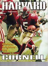 2000 Harvard vs Cornell Football Program  - Ex Mint