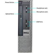 Dell OptiPlex 790 USFF Computer i5-2400S 8GB Win10 Pro WIFI New 240GB SSD