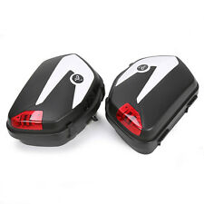 28L Motorcycle Hard Saddlebags For Can-Am Spyder Roadster RS ST W/ Mounting kit