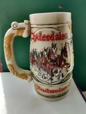 Budweiser Beer Stein By Cermarte Made In Brazil