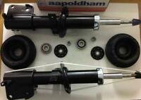 VAUXHALL VIVARO 1.9 2.0 2.5 DCi CDTi 2x FRONT GAS SHOCK ABSORBER STRUTS & MOUNTS