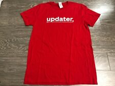 Nintendo Switch Updater T-shirt Medium Used