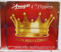 Die Amigos und Die Flippers + CD + Schlagerkönige + 12 stimmungsvolle Schlager +