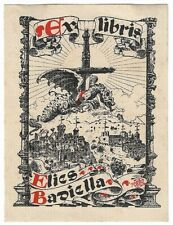 MATEO AVELLANEDA: Exlibris für Elies Badiella