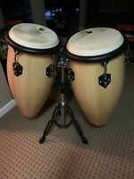 Toca Conga Drum Set with Stand ,buyer Is Responsible For Delivery