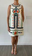 ANTHROPOLOGIE Embroidered Flower Dress