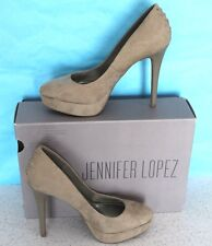 JENNIFER LOPEZ High Heels LUCILLE GREY Shoes Size 6M in Original Box
