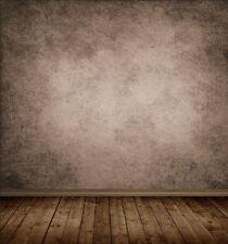 Braun Wand Boden Dünn Vinyl Hintergrund Für Fotostudio Hintergrundstoff 3X3M