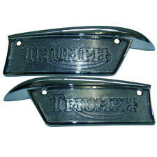 TRIUMPH Gasolina Tanque placa 69-ON par 82-9700/1