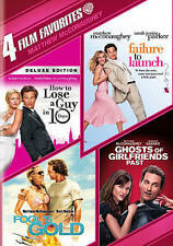 4 Film Favorites: Matthew McConaughey  NEW DVD How to Lose a Guy in 10 Days +3
