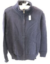 NWT Gap Kids Boys Full Zip Sweater Cardigan Jacket ~ Sz XL 12 Plus ~ Navy Blue