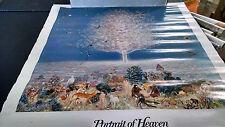 1975 a Portrait of Heaven hippie head shop vintage new  NOS poster HBX47