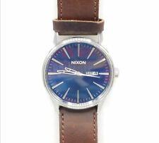 "Nixon 'Never Be Late"" The Sentry Watch Runs TT450"