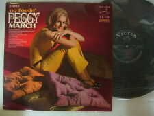 PEGGY MARCH NO FOOLIN / 1968 DG LAMAINATED COVER