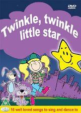 Twinkle Twinkle Little Star DVD - Childrens Kids Songs Rhymes Music Dance *New*