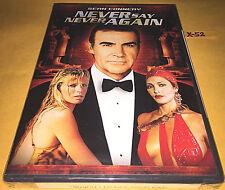 SEAN CONNERY 007 james bond NEVER SAY NEVER AGAIN dvd KIM BASINGER rown atkinson
