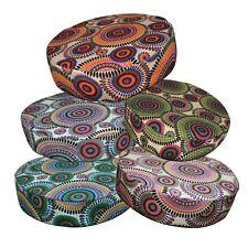 """2""""Thick-RoundBox Shape Cover*Dandelion Cotton Canvas Chair Seat Cushion Case*AF7"""