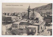 Tiberias Panoramic View Vintage Postcard 209a