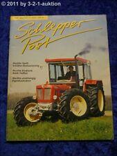 Schlepper Post 3/99 Percheron Schlüter Super 1250 VL Eigenbautraktor