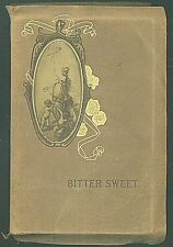 BITTER SWEET Poems by J. G. Holland ca1910 Leather Book H M Caldwell Company