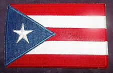 Puerto Rican Flag Patch San Juan Puerto Rico Embroidered Patch Diy