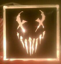 Customized Lighted Mushroomhead Glass Block Light~ Home Decor~Gift~Lamp
