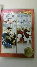 New Sealed Its a Wonderful Life & White Christmas (DVD, 2006, 2-Disc Set)