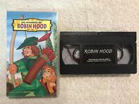 ROBIN HOOD  VHS PARA TODOS LOS PUBLICOS INFANTIL