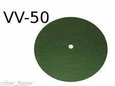 Victor Victrola VV-50 LIGHT GREEN Turntable Felt with Enlarged Spindle Hole