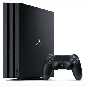 Sony PlayStation 4 Pro - PS4 Pro - 1 To Console - Noire