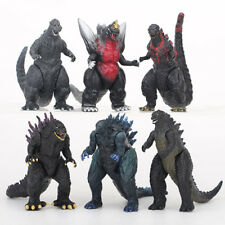 Godzilla Monsters Action Figure Toy Set of 6 pcs Movie Figures Collectible Games